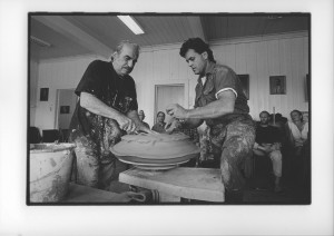 Peter Voulkos, USA and Peter Callas, USA